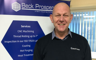 Welcome to Beck Prosper's newest recruit, Peter Harrison